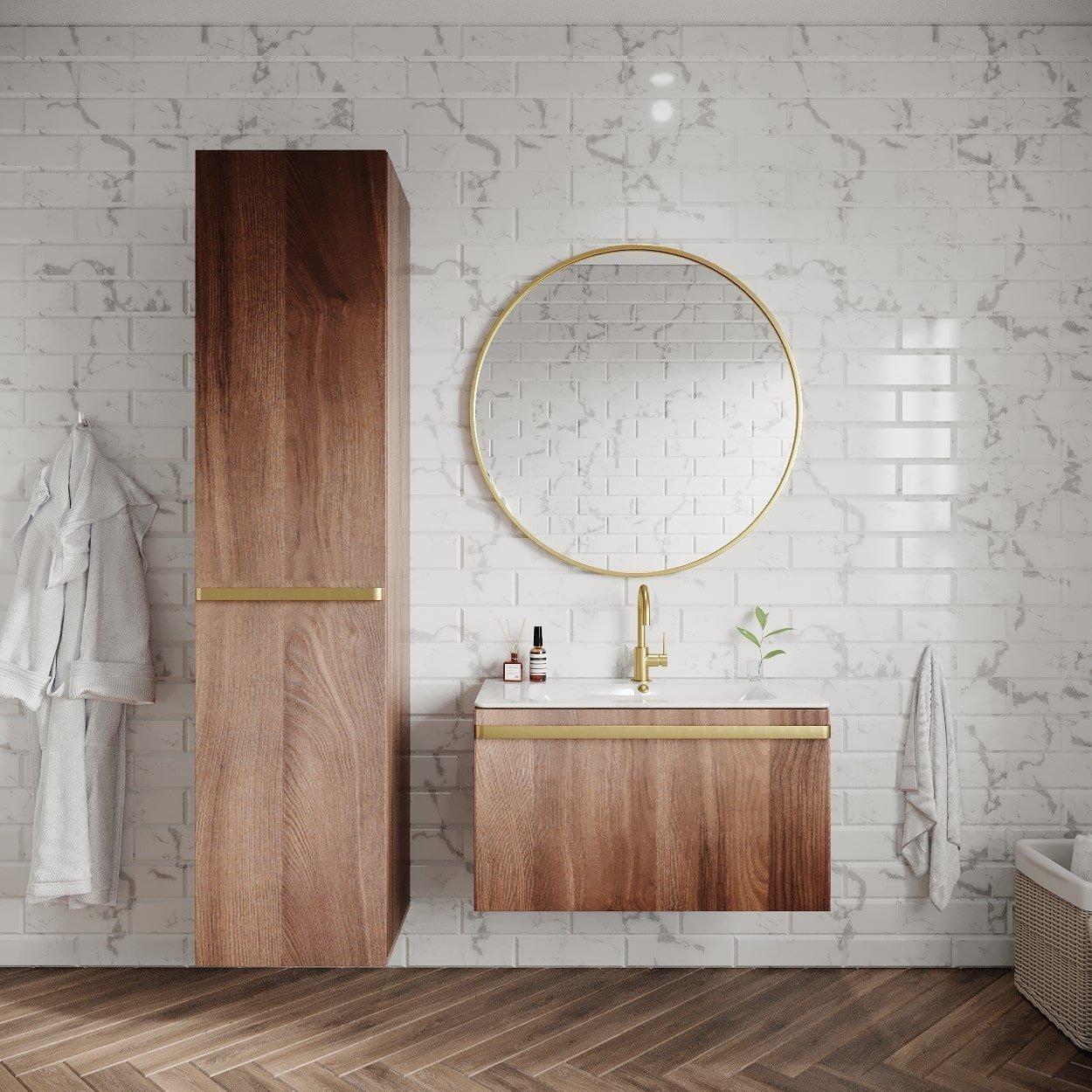 render mobiliario baño