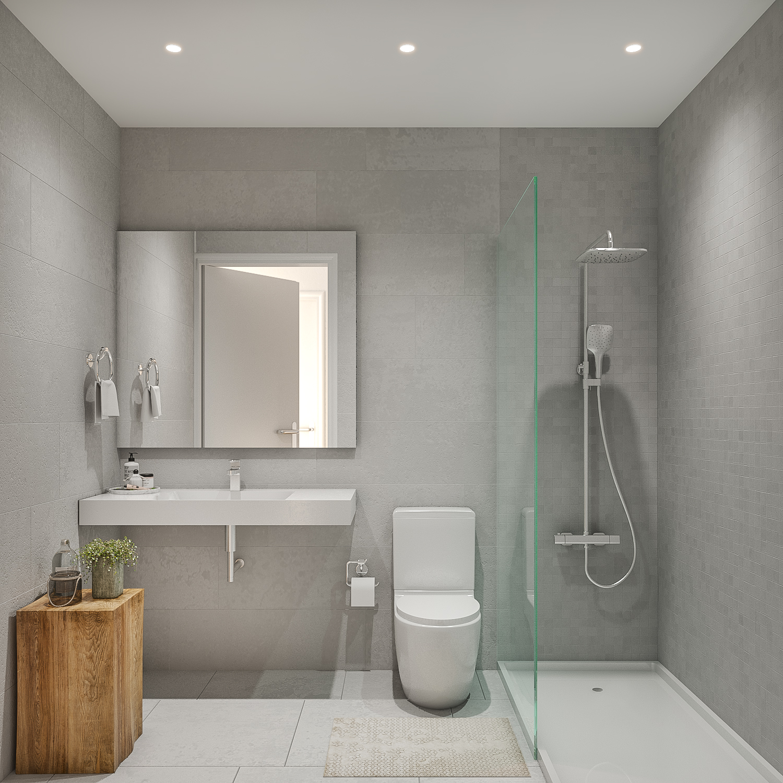 render baño