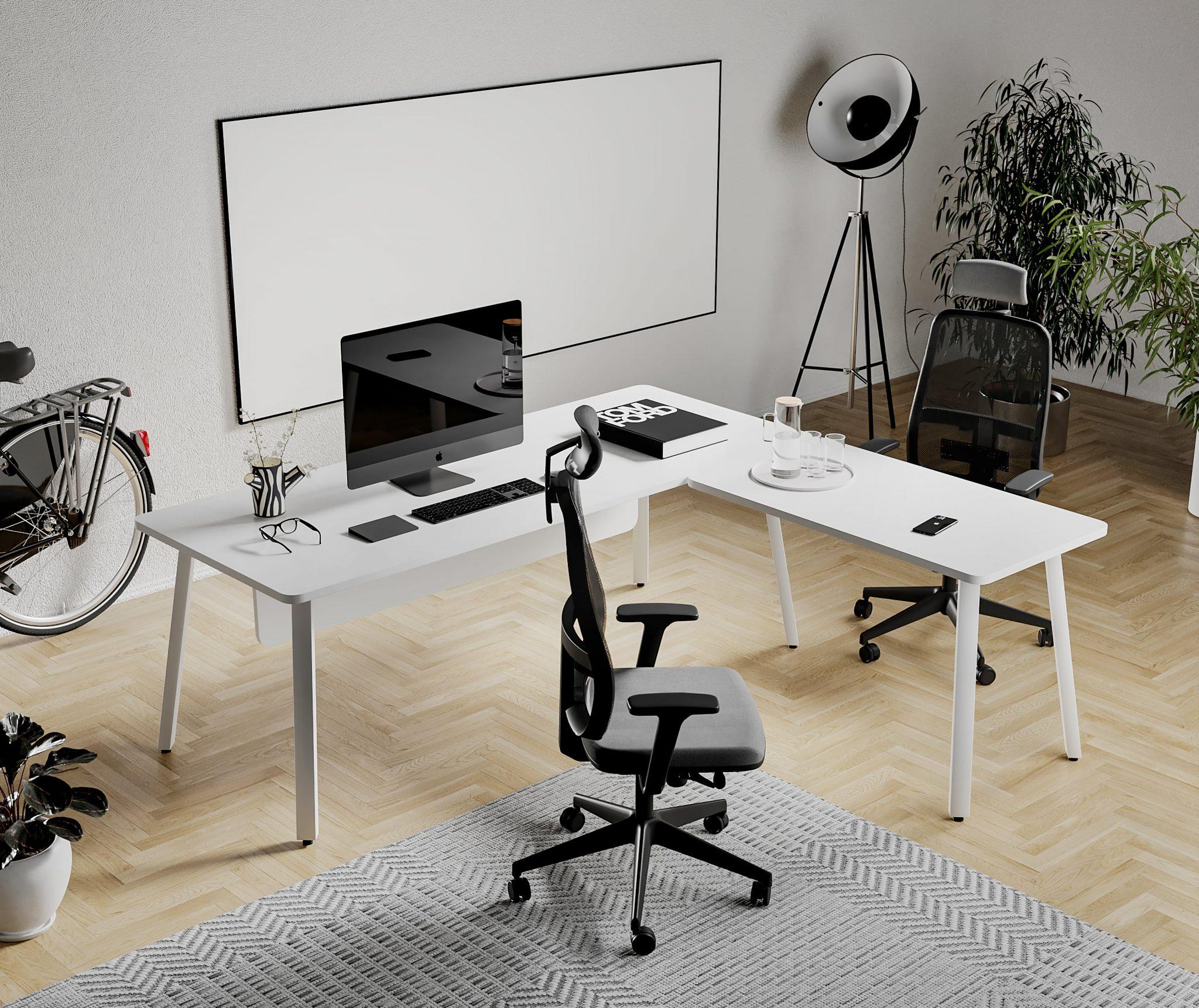 renders de muebles oficina